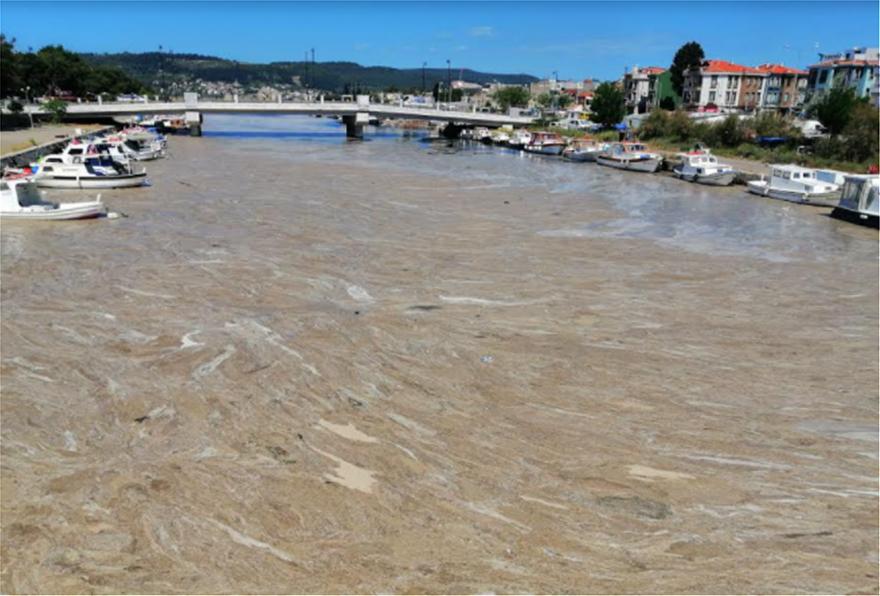 Τεράστια βλέννα σαν γλίτσα καλύπτει τη θάλασσα του Μαρμαρά και απειλεί το Αιγαίο (Photos)